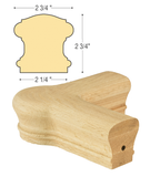 Bristol Quarterturn Newel Cap : C-7121 | Stair parts