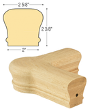 Classic Quarterturn Newel Cap : C-7221 | Stair parts