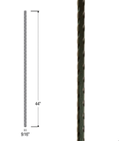 Mediterranean Hammered Bar Iron Baluster : 2995