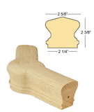 Richmond 45 Degree Level Newel Cap : C-7422 | Stair parts