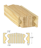 Richmond Bending Rail : C-6416 | Stair parts