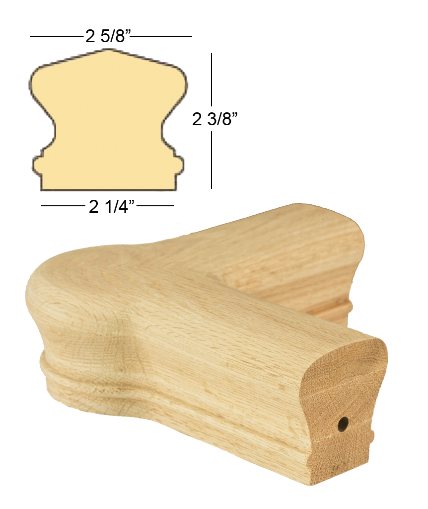 Richmond Quarterturn Newel Cap : C-7421 | Stair parts