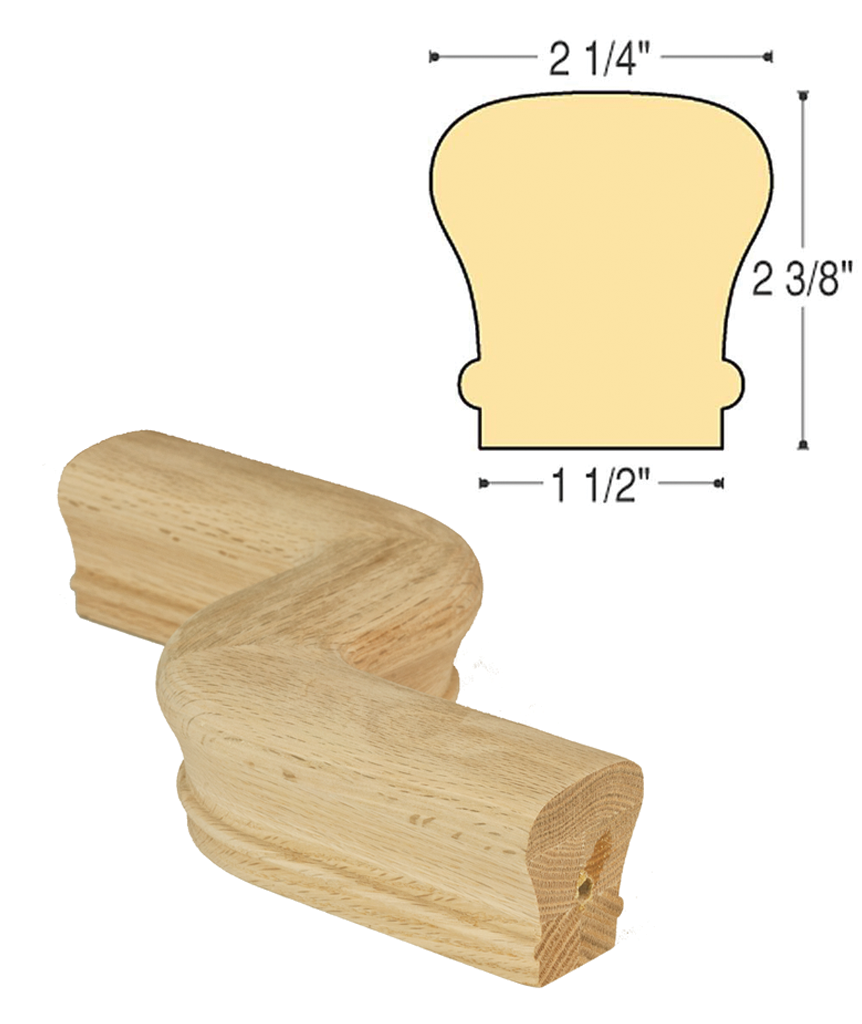 "Traditional LH ""S"" Turn: C-7047LH 