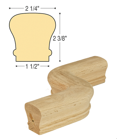 "Traditional RH ""S"" Turn: C-7047RH 