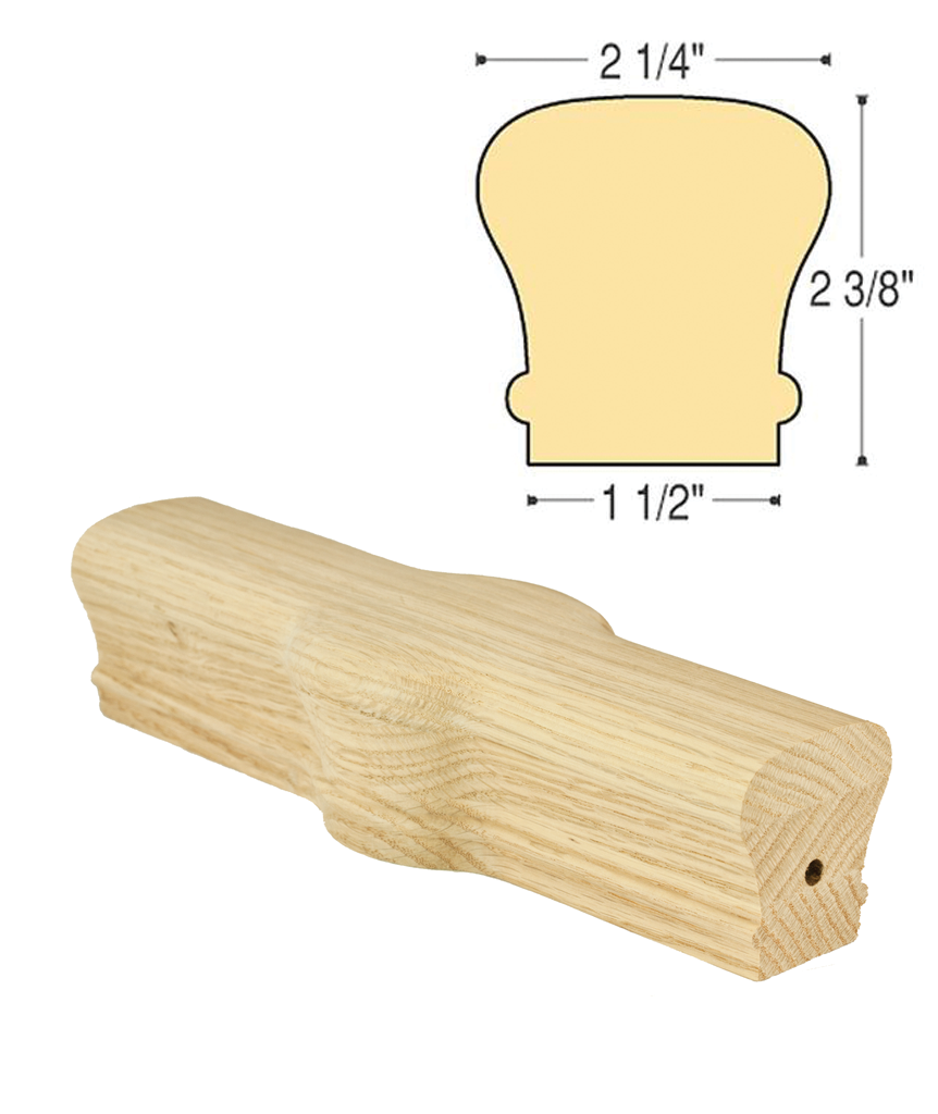 Traditional Tandem Cap : C-7020 | Stair parts