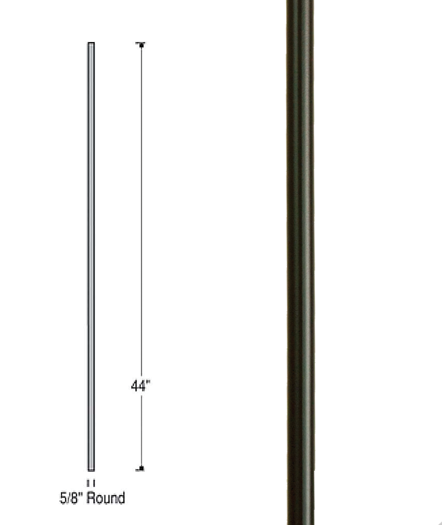 Venetian Plain Iron Baluster : 2595