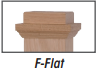 Flat Panel Newel Stair Part #4076 | Stair parts