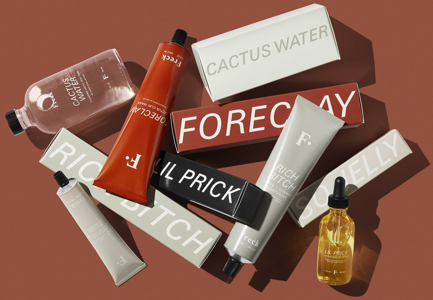 Freck Beauty Products - The Cactus Collection