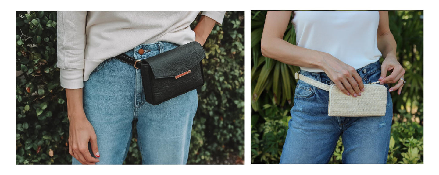 HFS Collective Ethical Sustainable Vegan Belt Bags