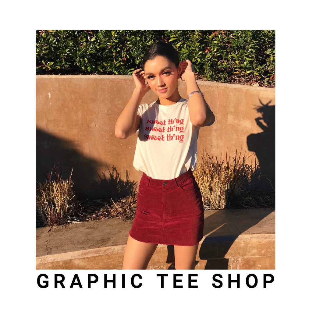 Organic Cotton Clothing Graphic Tees