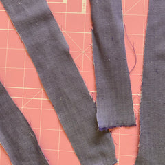 Strips of Fabric for Face Mask Straps