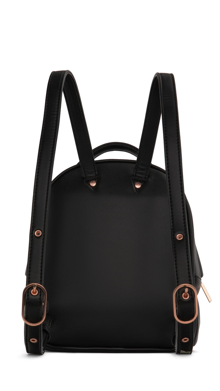 Black & Rose Gold BALI MINI Backpack by Matt & Nat