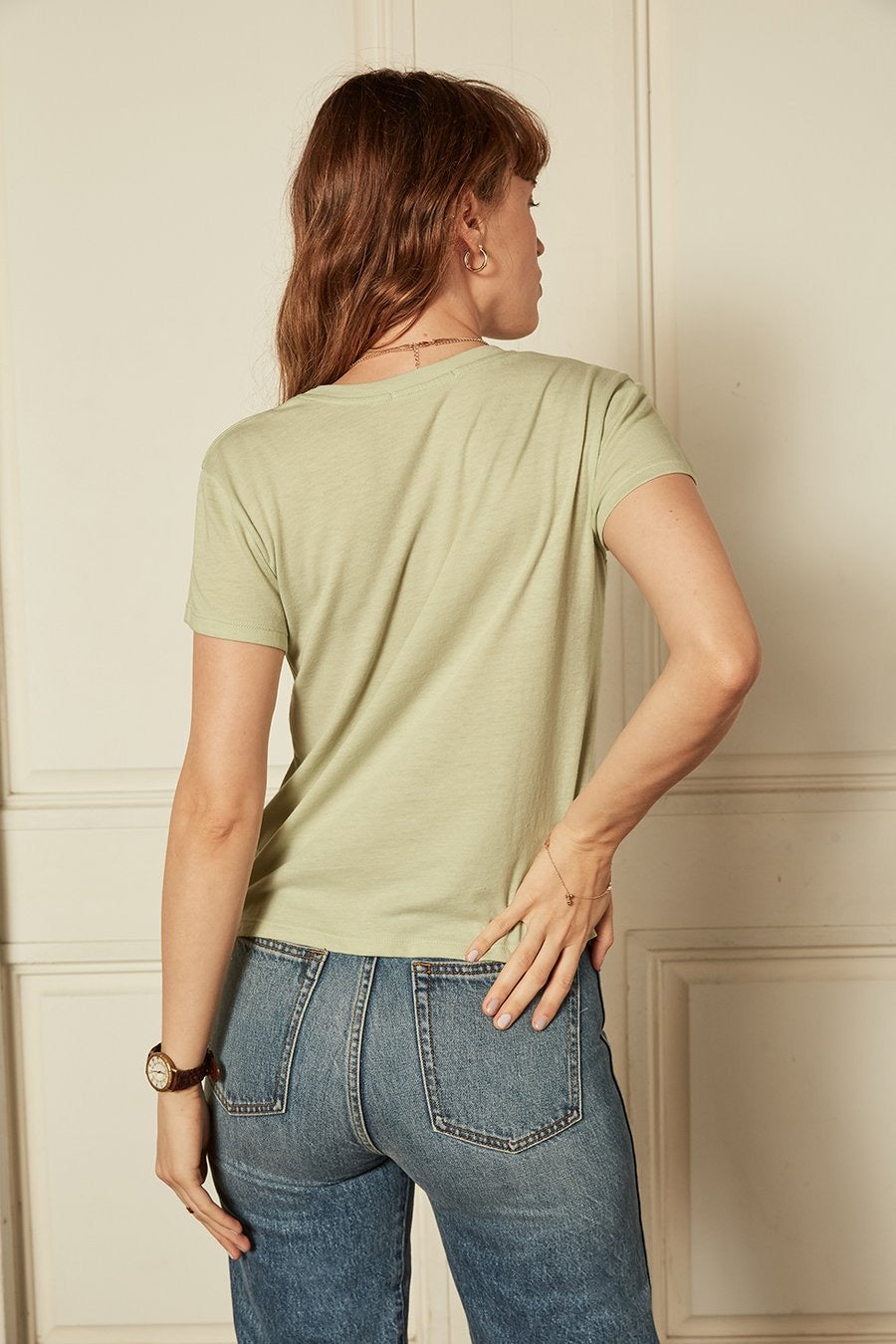 The Jagger Organic Cotton Slim Tee by Boyish Jeans