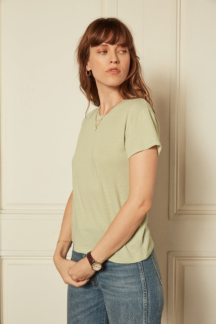The Jagger Organic Cotton Crew Neck Tee by Boyish Jeans