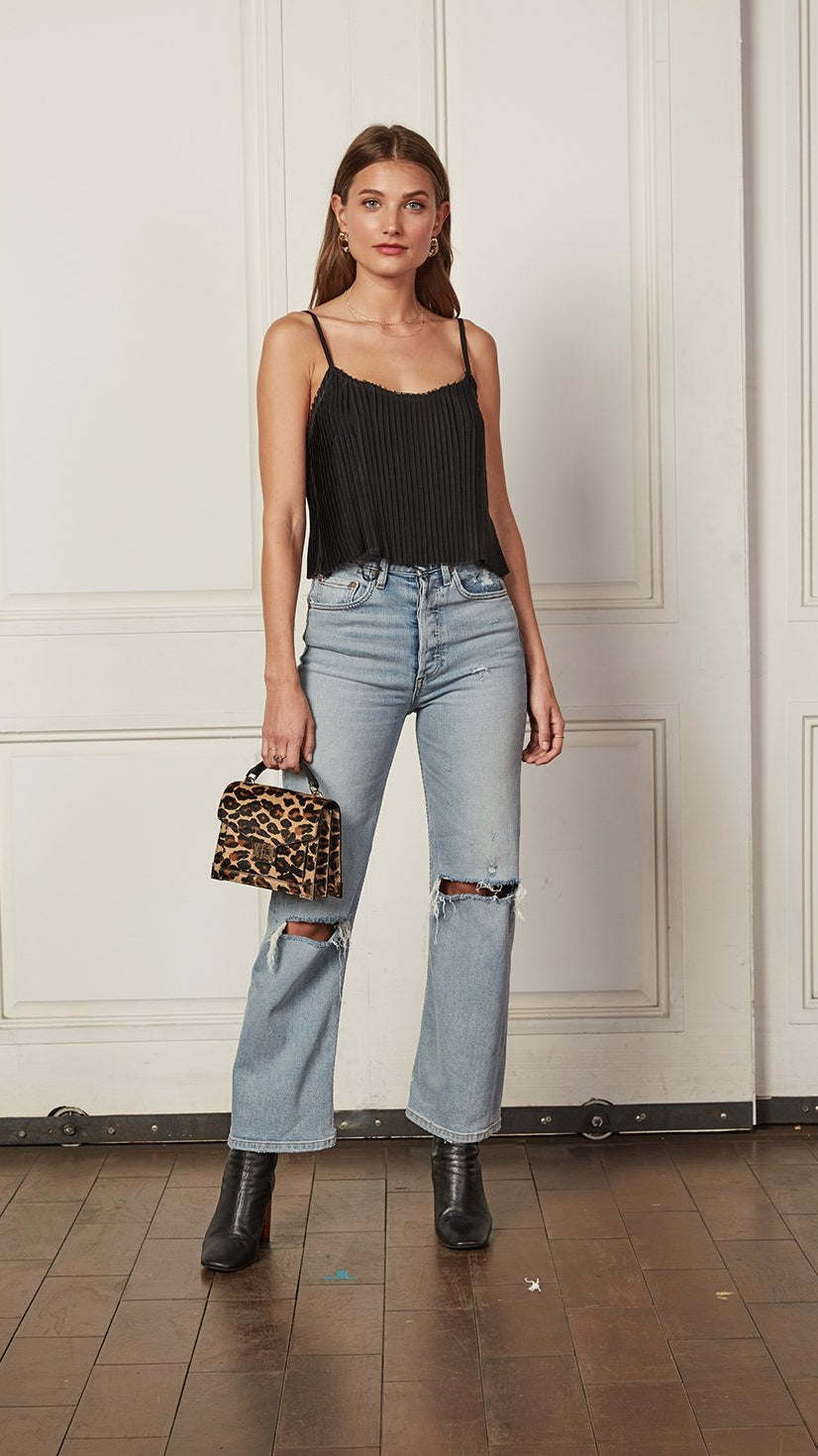 The Mikey Wide Leg in The Blue Angel by Boyish Jeans