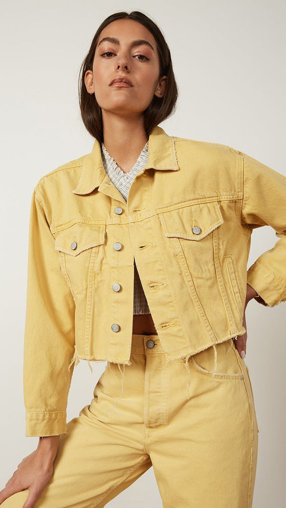 Boyish Jeans The Harvey Jacket The Honey Pot