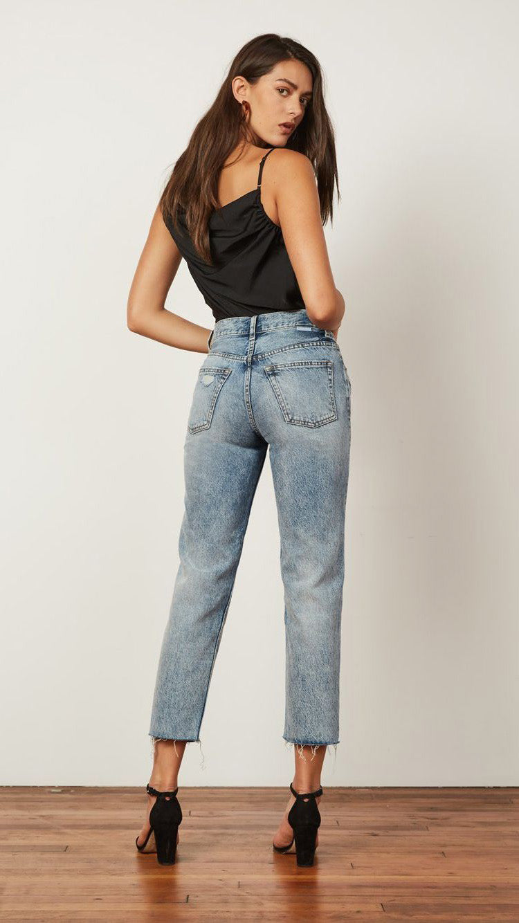 The Tommy High-Rise Straight Leg Jean by Boyish Jeans