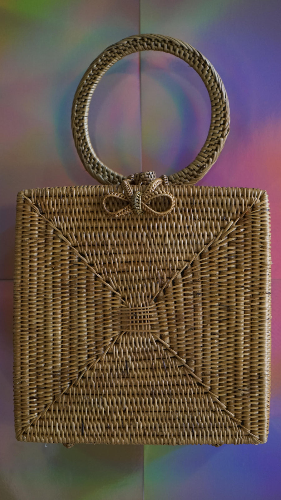 Artisan Straw Bag Made by Brunna Co