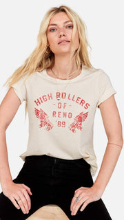 Mate the Label High Rollers of Reno Classic Crew Graphic Tee