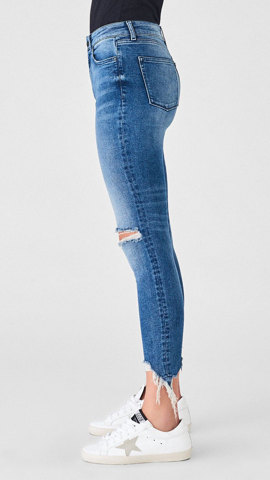 Farrow High Rise Ankle Skinny in Laramie by DL1961