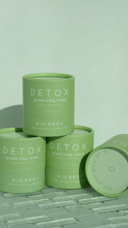 NIU Body Green Clay Detox Mask