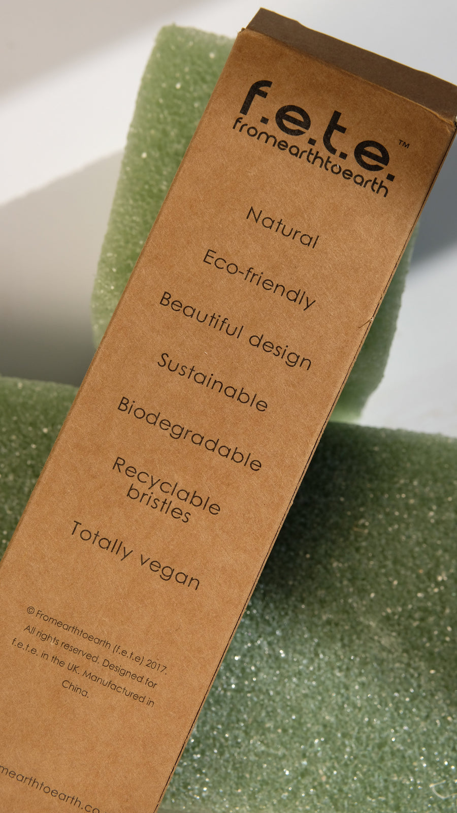 F.E.T.E. Multi-Pack of Medium Bamboo Toothbrushes