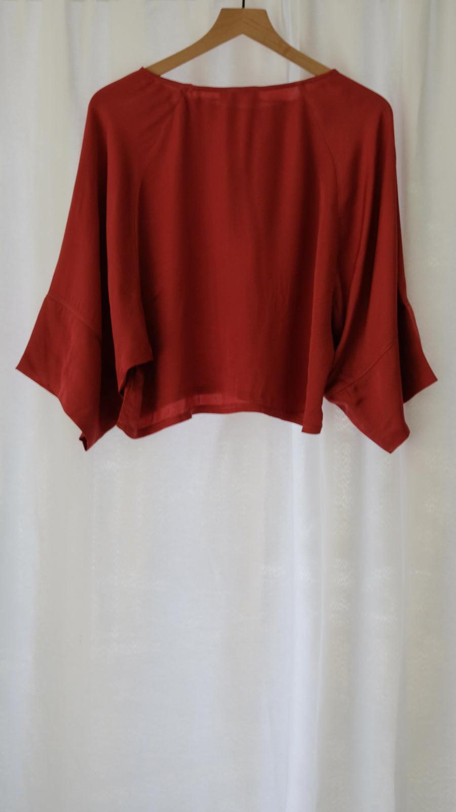 Goya Kimono Tee in Marsala by Nation LTD