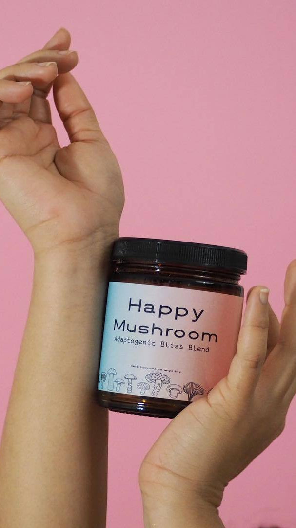 Happy Mushroom Adaptogenic Bliss Blend