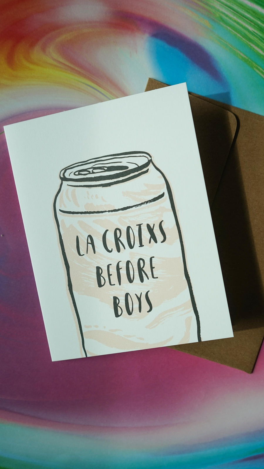 La Croixs Before Boys Card