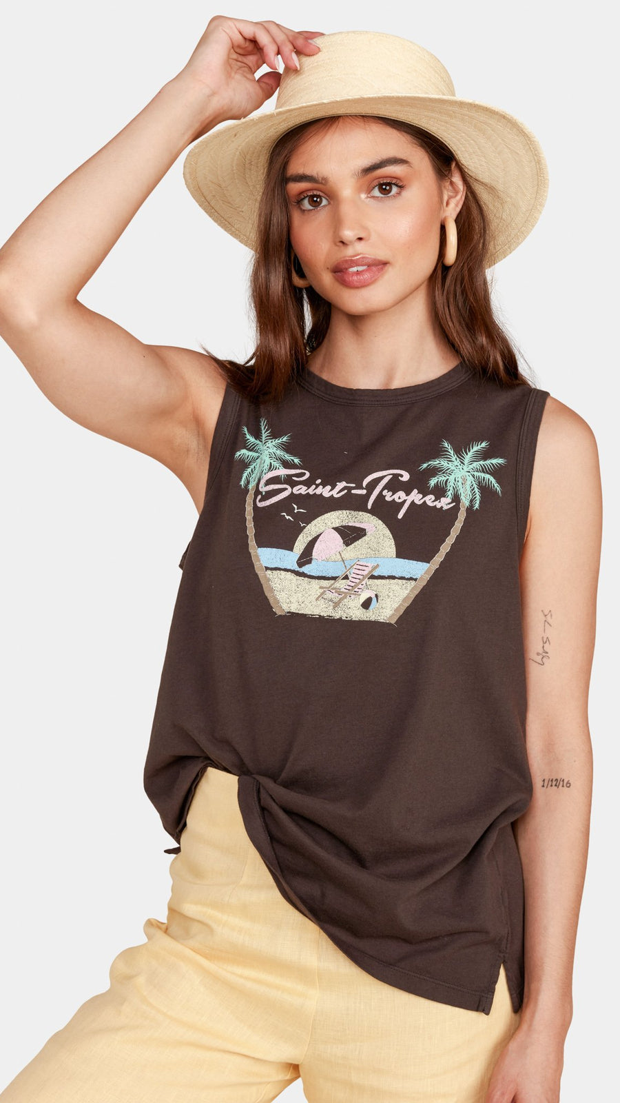 MATE the Label Tula Tank in Saint Tropez