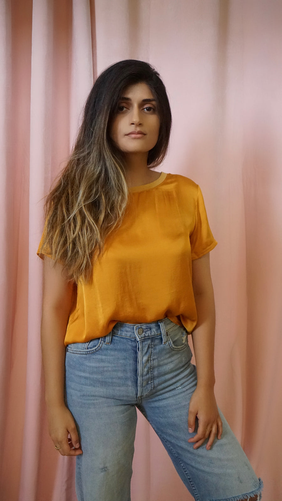 Marie Tee by Nation LTD in Turmeric