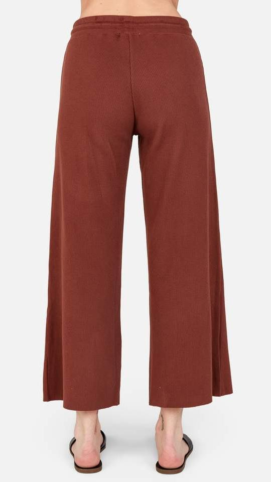 The Ali Pant in Tobacco by Mate the Label