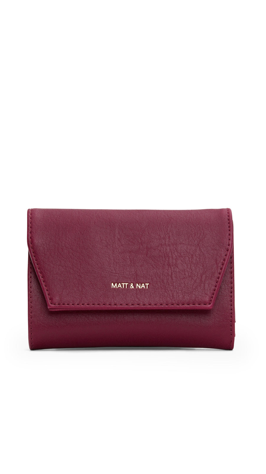 Vera Small Wallet in Garnet by Matt & Nat