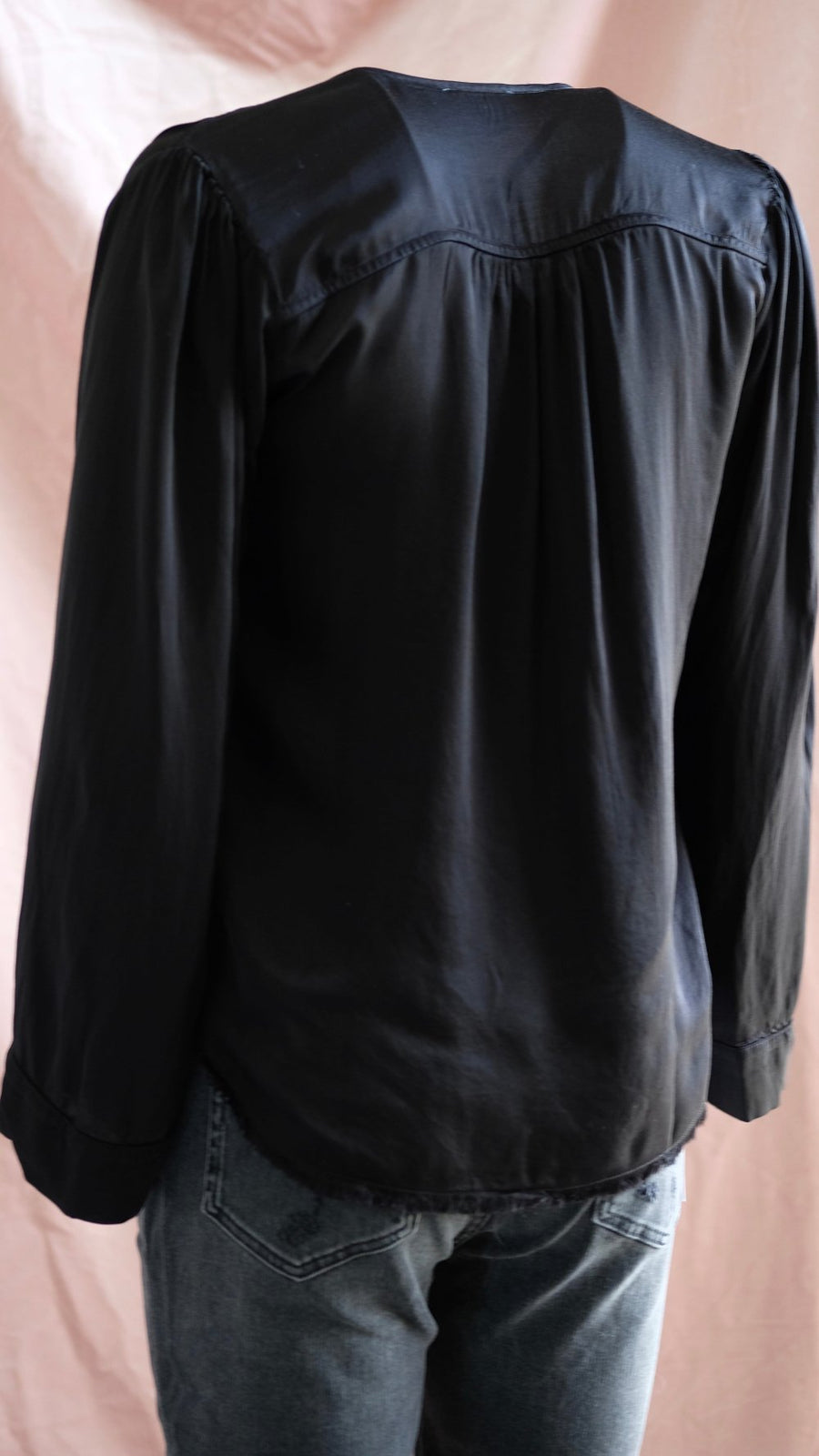 Black Maura Top by Nation LTD