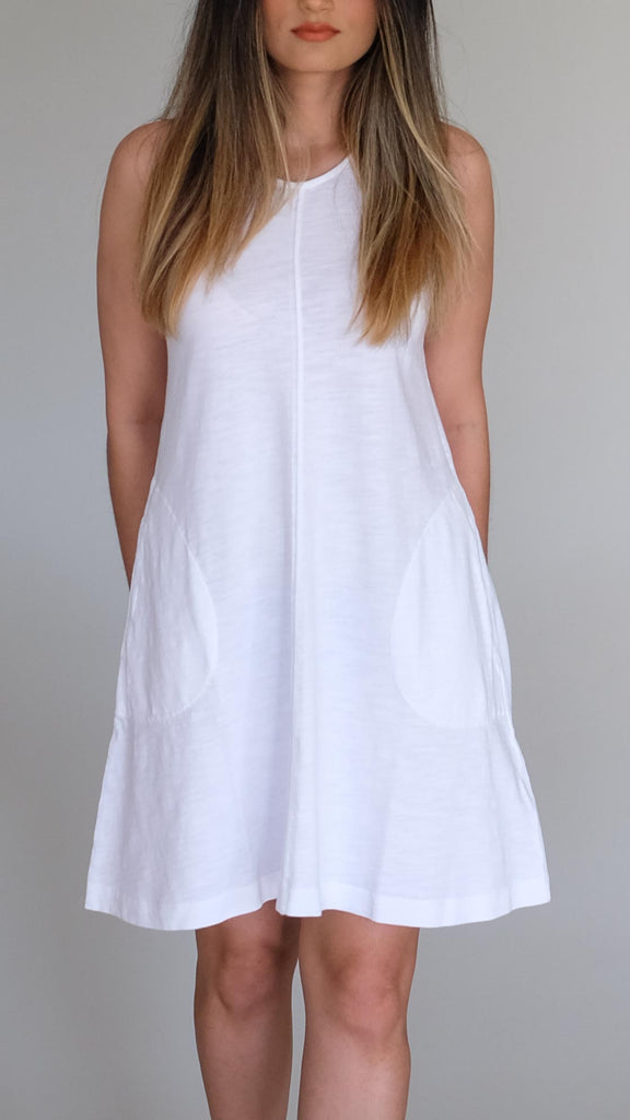 Phoebe A Line Dress with Pockets by Nation LTD