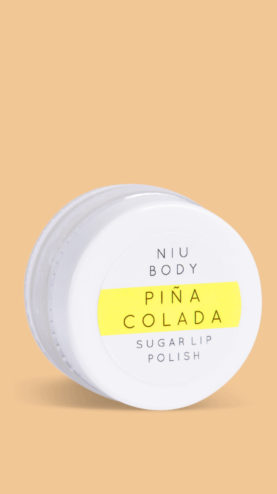 Niu Body Pina Colada Sugar Lip Polish