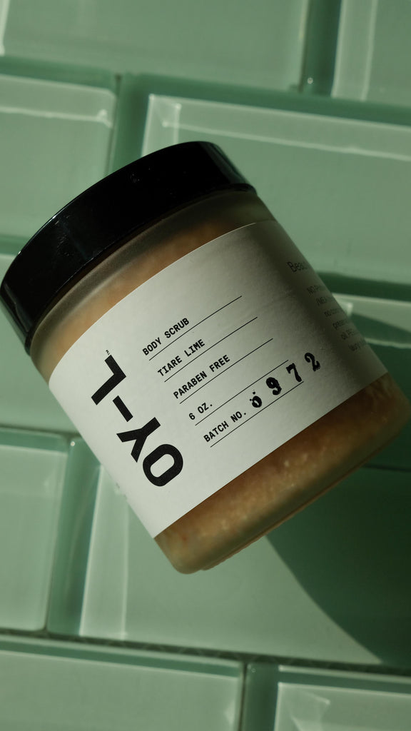 OY-L Zero Chemical Skincare Natural Body Scrub at The Lunary