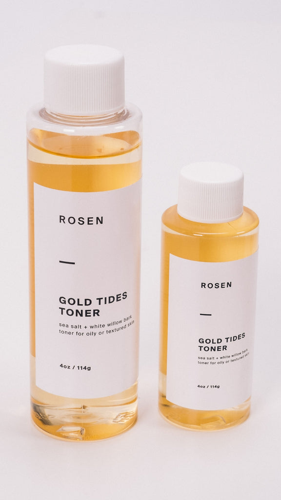Rosen Gold Tides Toner Clean Acne Skin Care
