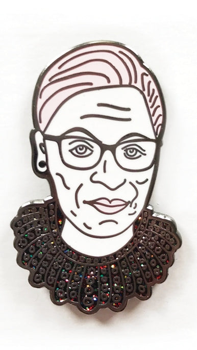 RBG Dissent Collar Pin by Boss Dotty Paper Co