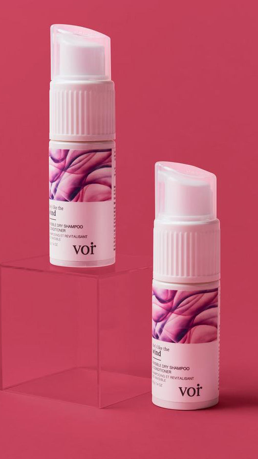 She's Like The Wind Dry Shampoo & Conditioner by Voir Haircare