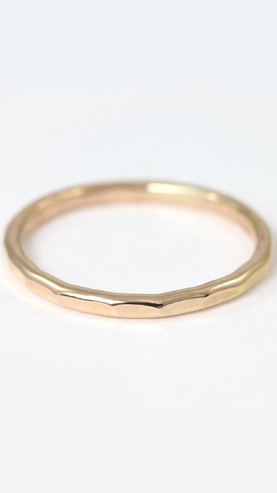 Gold Stacking Ring by Sloane Jewelry Design