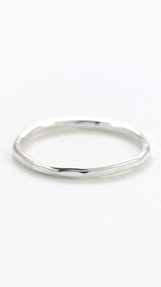 Silver Stacking Ring by Sloane Jewelry Design