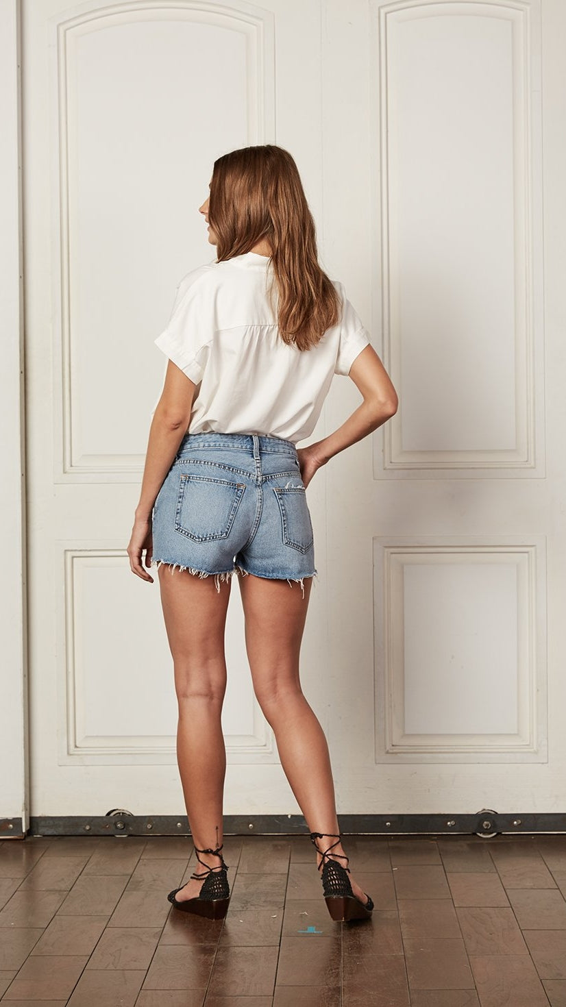 The Cody High Rise Cut Off Shorts by Boyish Jeans