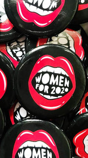 Women for 2020 Button by Boss Dotty Paper Co