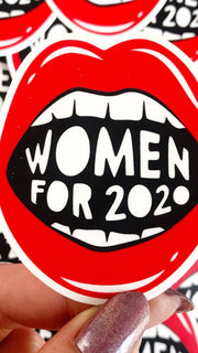 Women for 2020 Sticker by Boss Dotty Paper Co