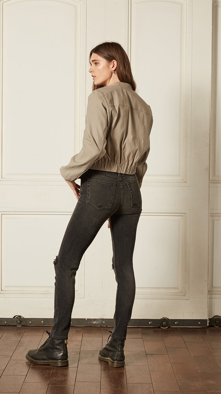 Boyish The Zachary High-Rise Skinny Jeans