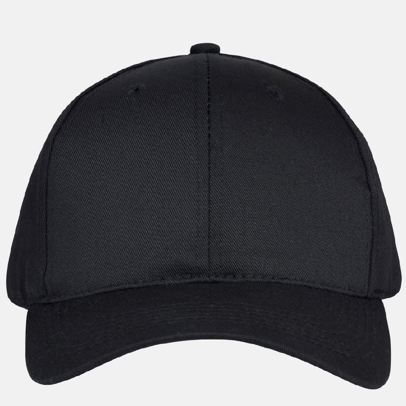 Recycled Black Baseball Cap by RiLEY STUDiO