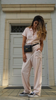 Montana Jumpsuit in Peony by LACAUSA Clothing