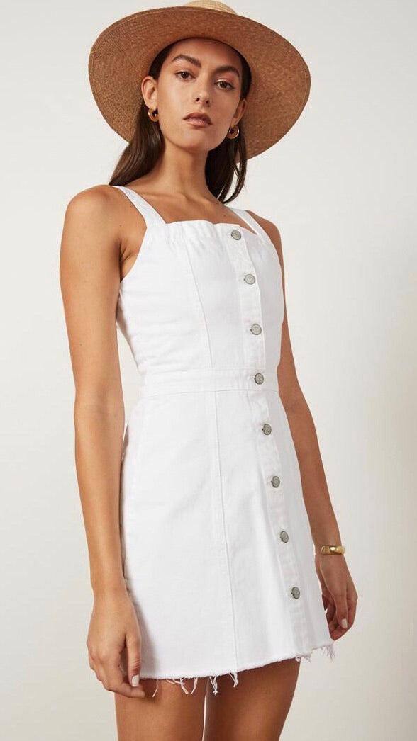 Boyish Jeans White Kennedy Denim Dress