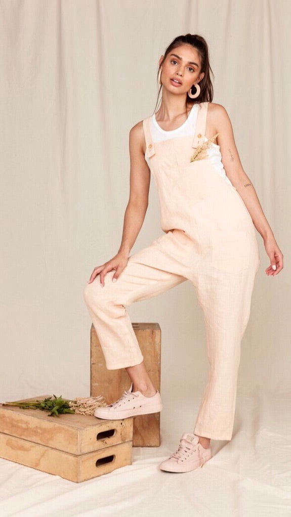 Maya Overalls in Apricot by MATE The Label